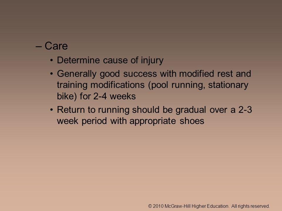 Care Determine cause of injury