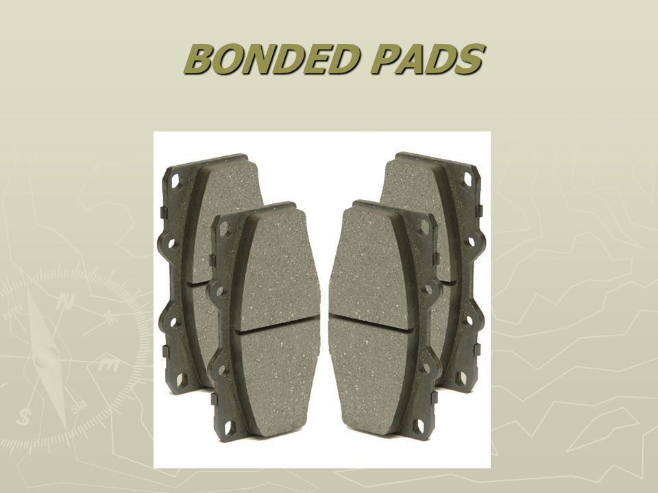 BONDED PADS