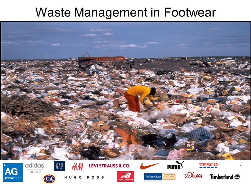 Waste Management in Footwear