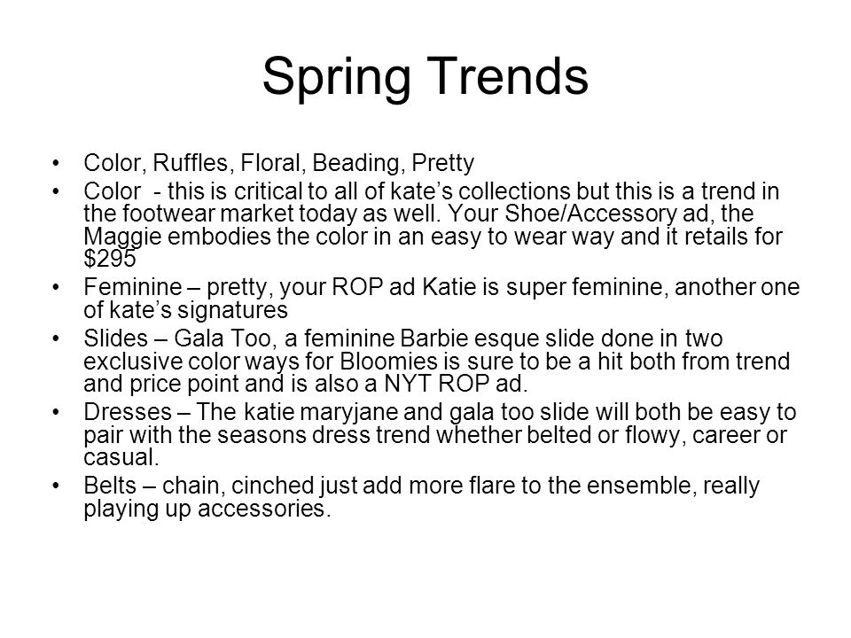 Spring Trends Color, Ruffles, Floral, Beading, Pretty