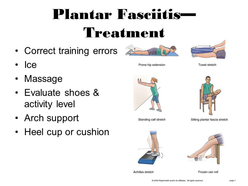 Plantar Fasciitis—Treatment