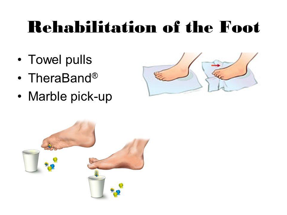 Rehabilitation of the Foot
