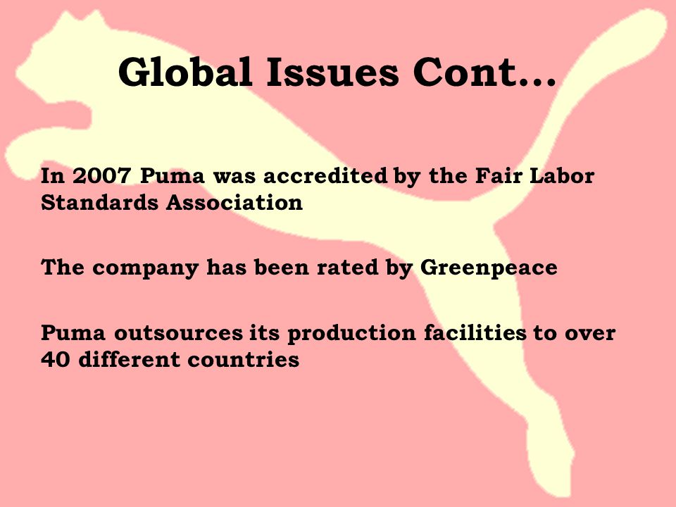 Global Issues Cont…
