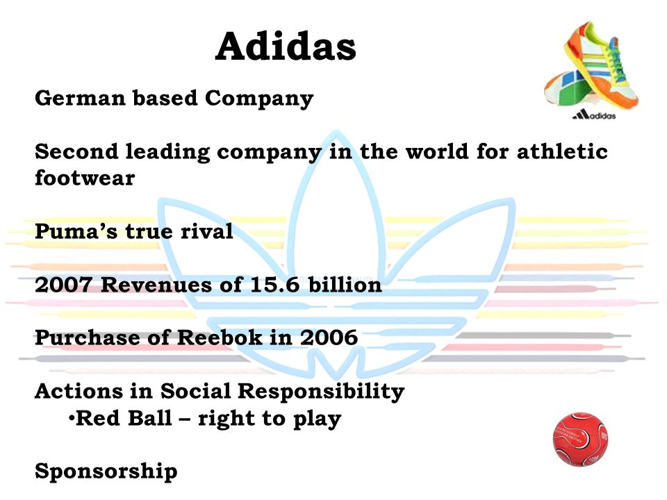 Adidas German based Company