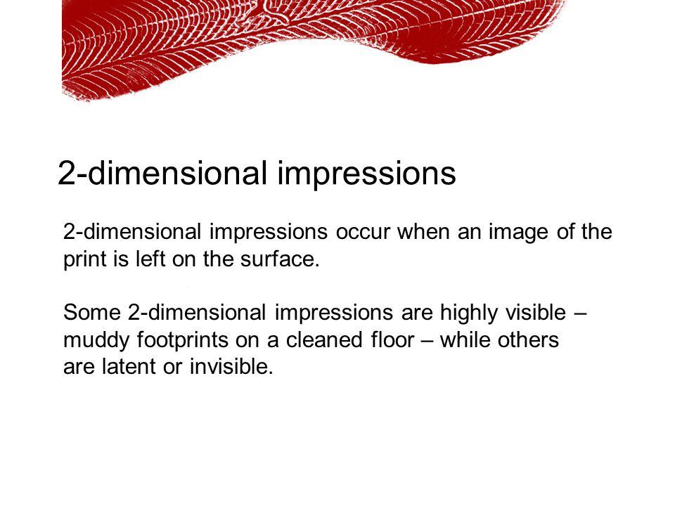 2-dimensional impressions