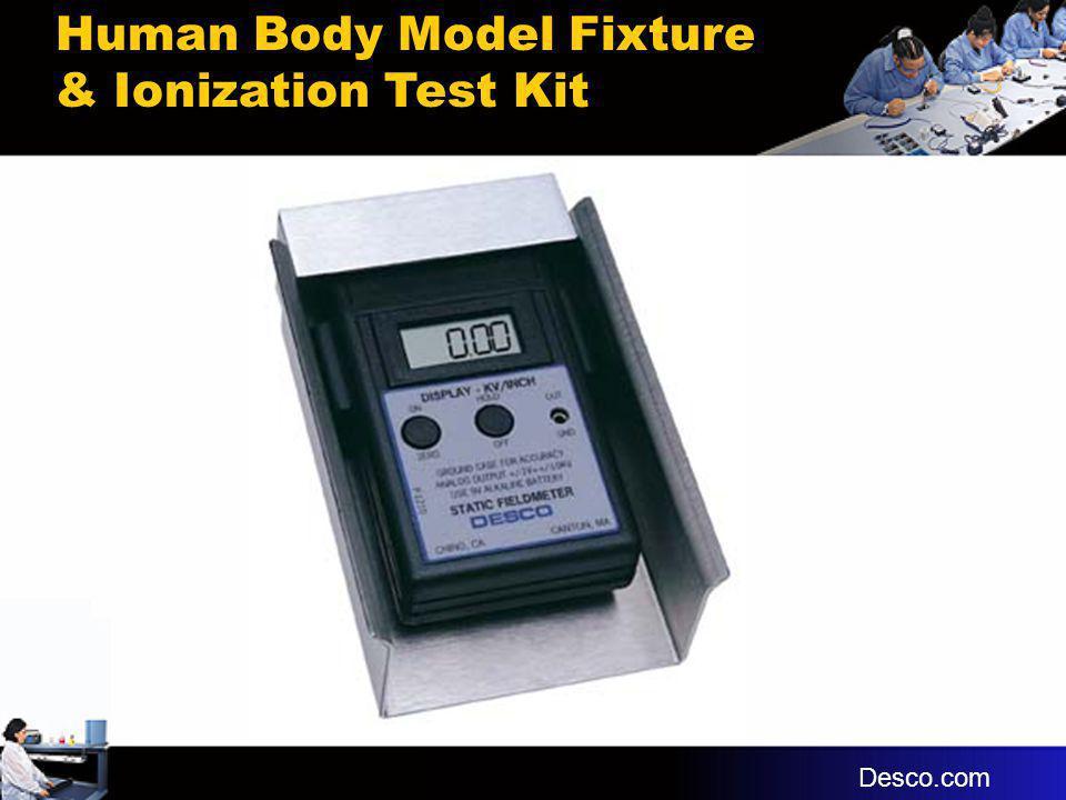 Human Body Model Fixture & Ionization Test Kit
