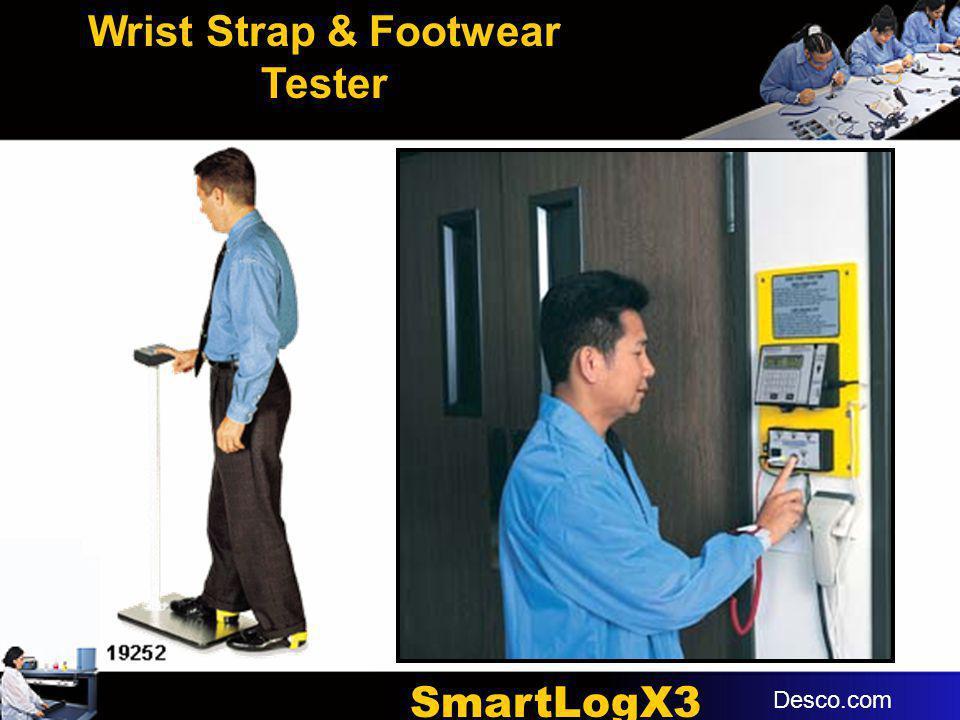 Wrist Strap & Footwear Tester