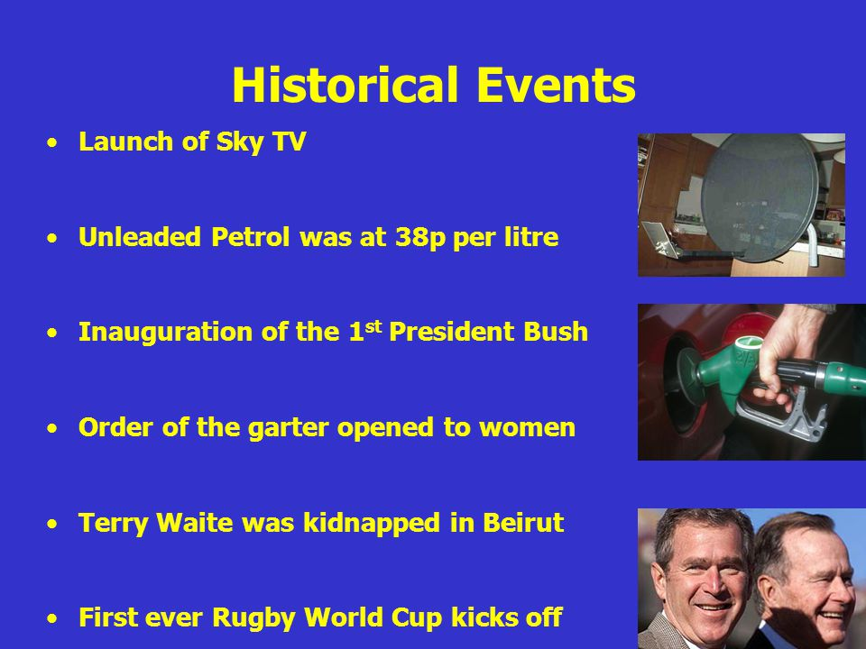Historical Events Launch of Sky TV