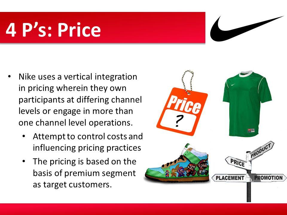 4 P's: Price