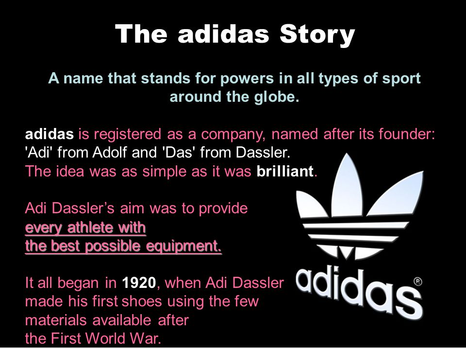 A name that stands for powers in all types of sport around the globe.
