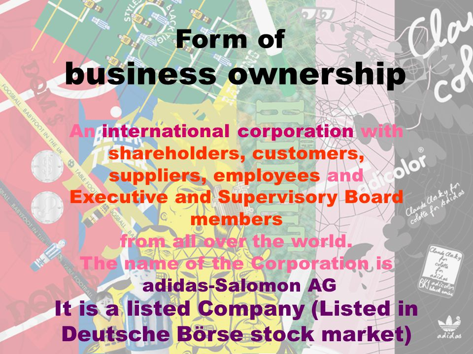 business ownership Form of