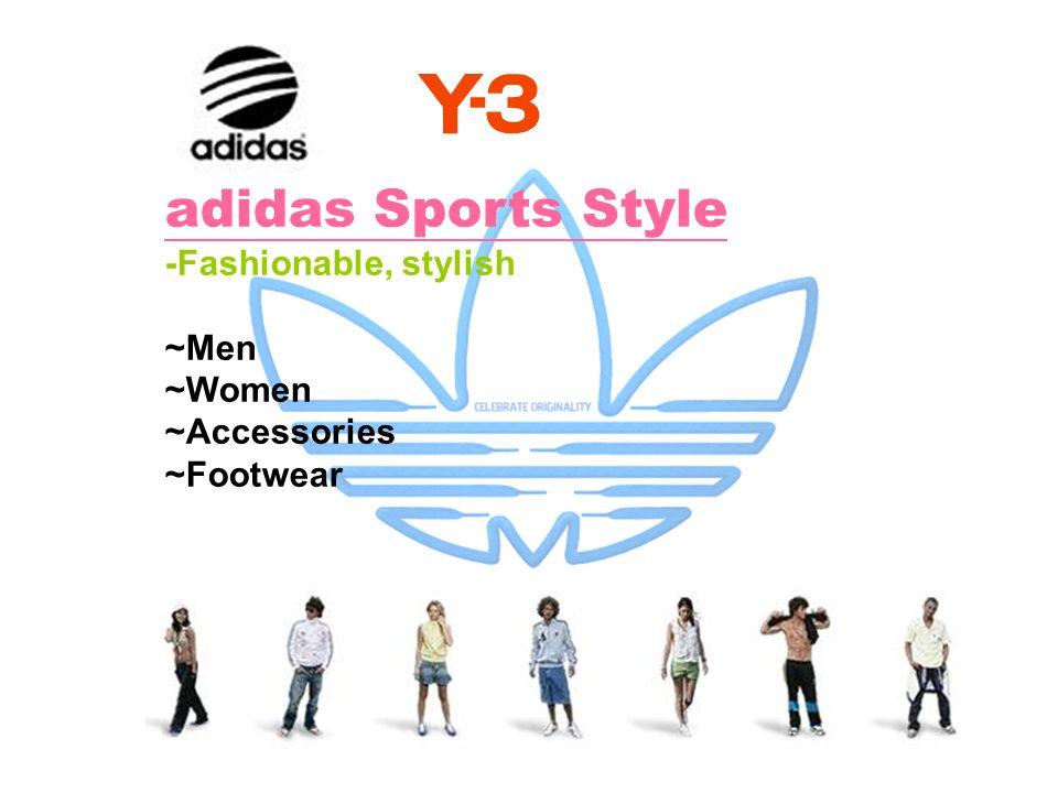 adidas Sports Style -Fashionable, stylish ~Men ~Women ~Accessories
