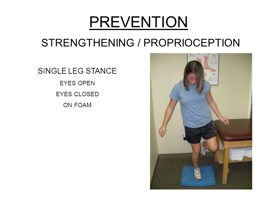 STRENGTHENING / PROPRIOCEPTION