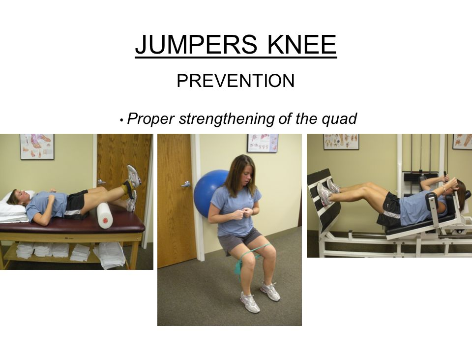 Proper strengthening of the quad