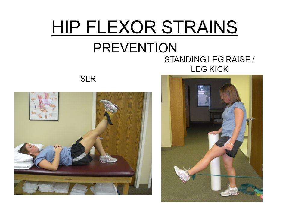 STANDING LEG RAISE / LEG KICK