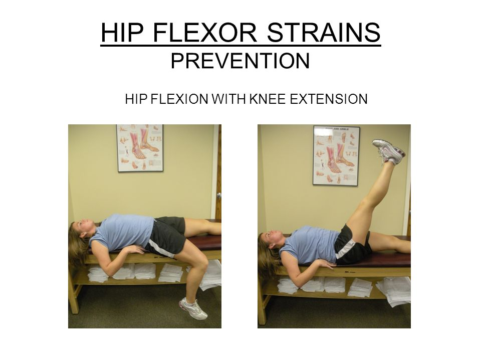 HIP FLEXOR STRAINS PREVENTION