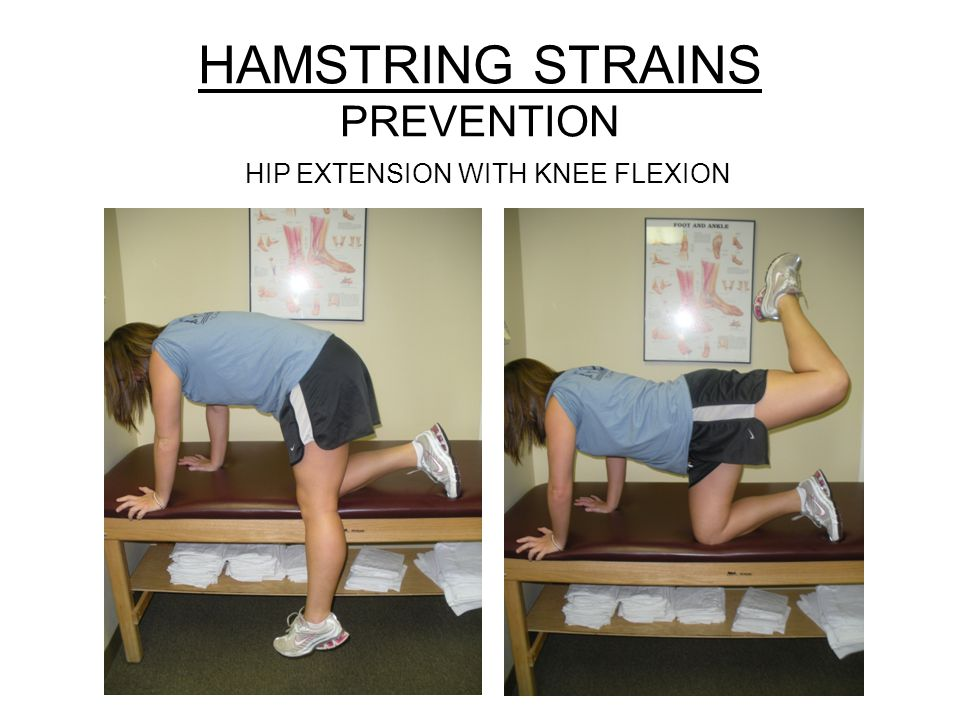 HAMSTRING STRAINS PREVENTION