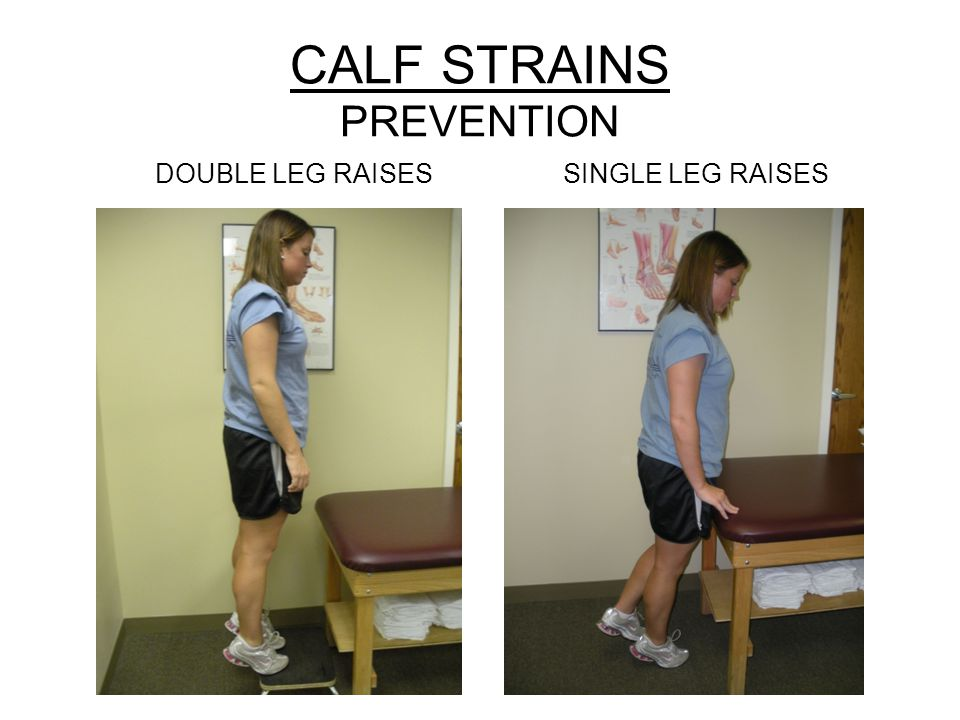 CALF STRAINS PREVENTION