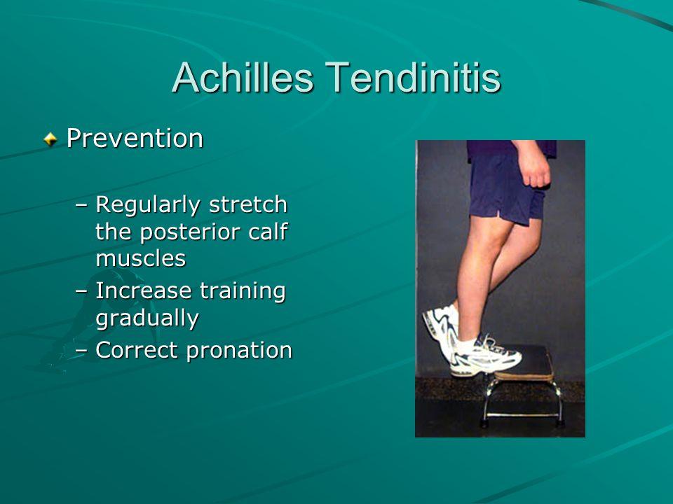 Achilles Tendinitis Prevention