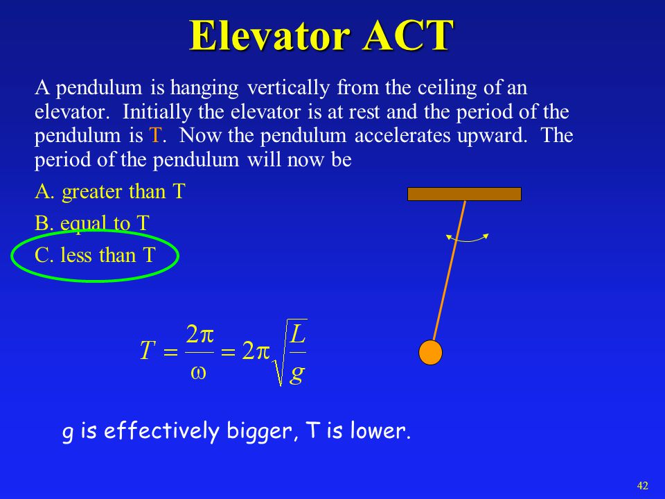 Elevator ACT