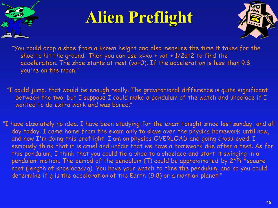 Alien Preflight