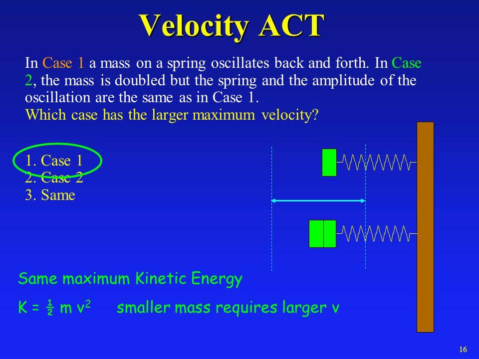 Velocity ACT
