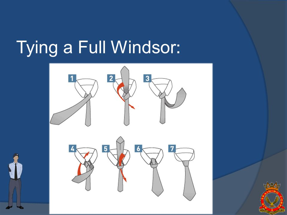Tying a Full Windsor: