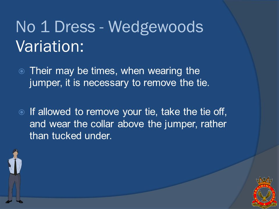 No 1 Dress - Wedgewoods Variation: