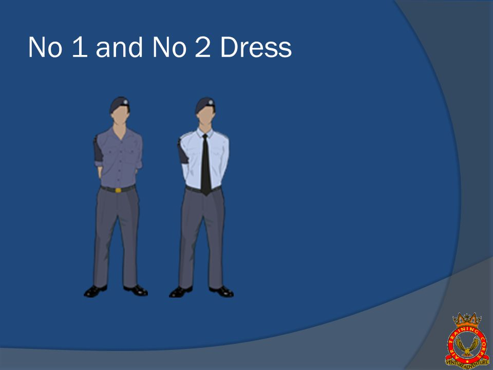 No 1 and No 2 Dress