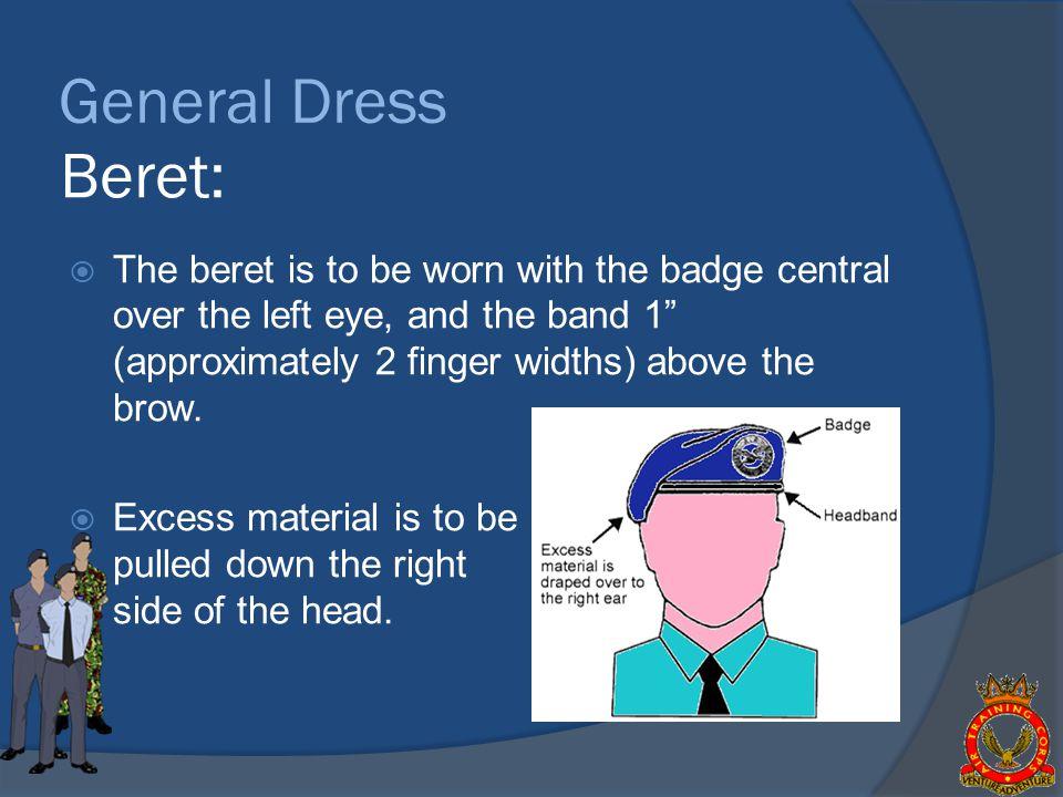 General Dress Beret:
