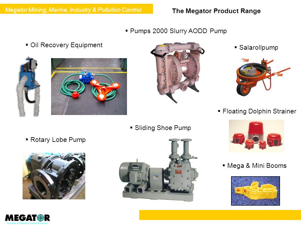 Megator Mining, Marine, Industry & Pollution Control