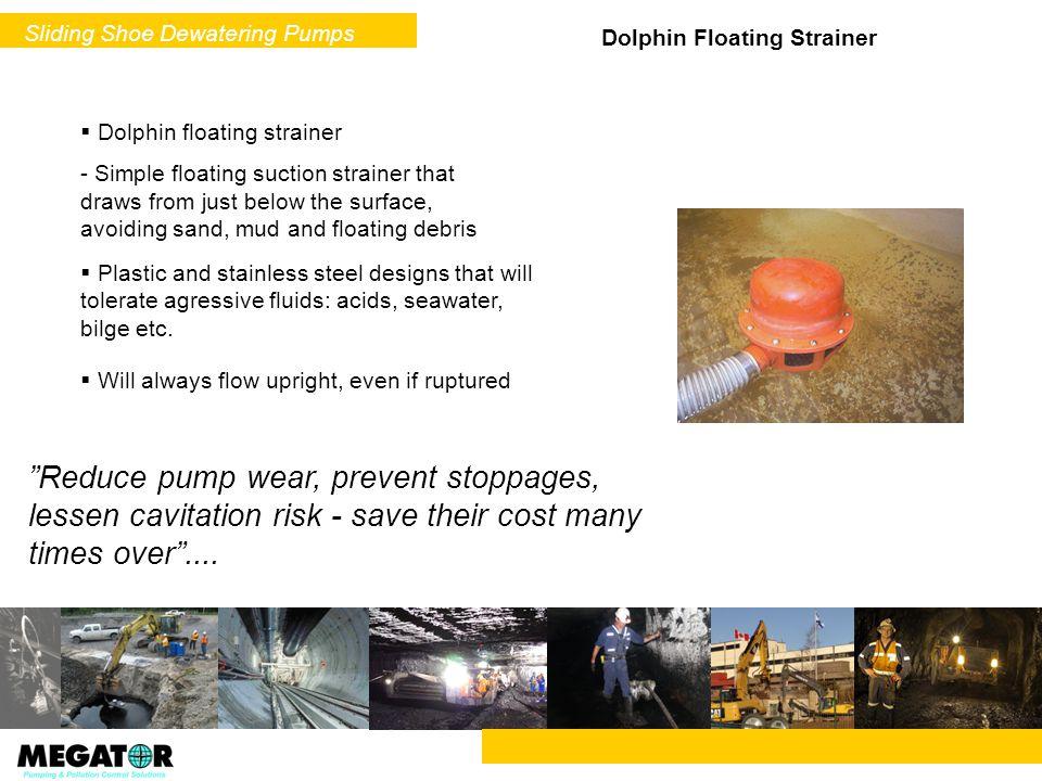 Sliding Shoe Dewatering Pumps