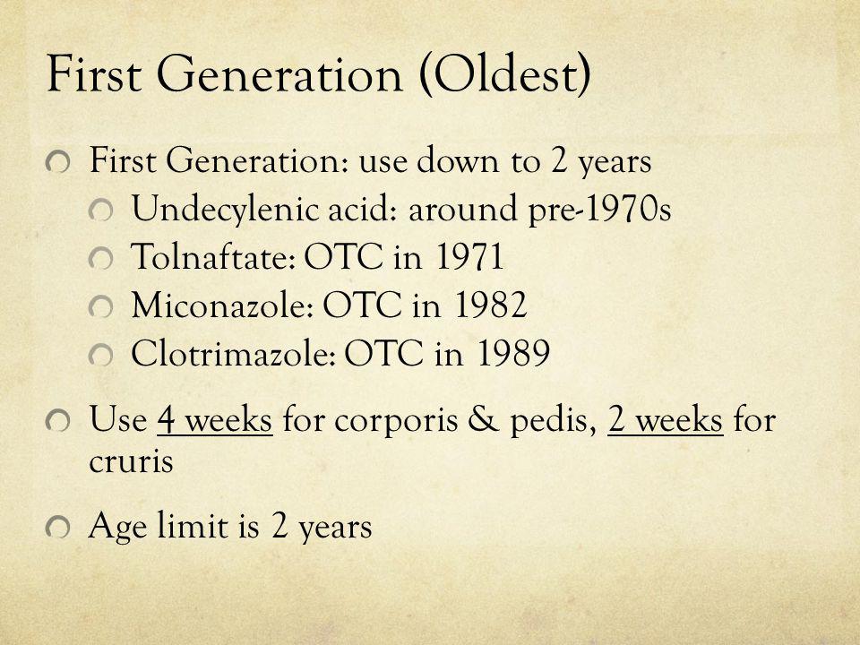 First Generation (Oldest)