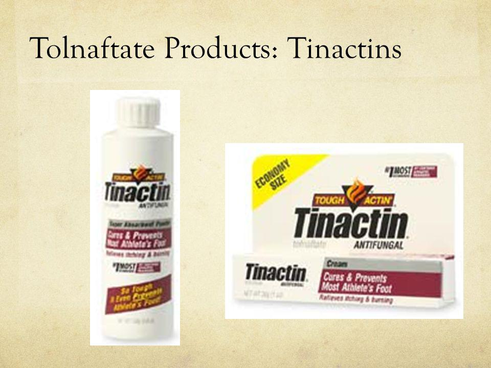 Tolnaftate Products: Tinactins