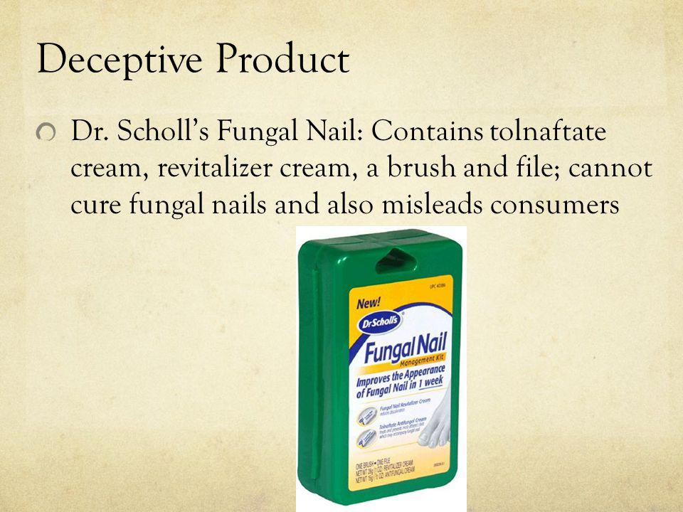Deceptive Product