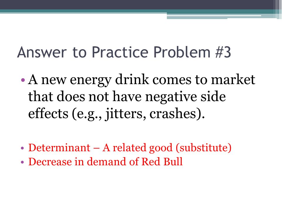 Answer to Practice Problem #3