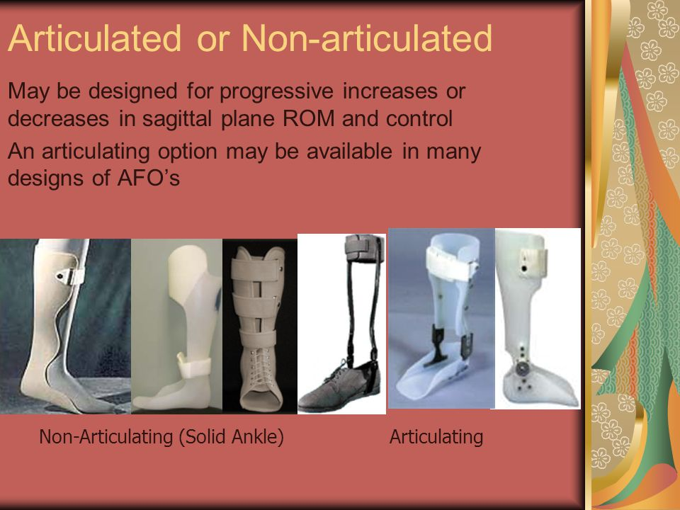 Non-Articulating (Solid Ankle)