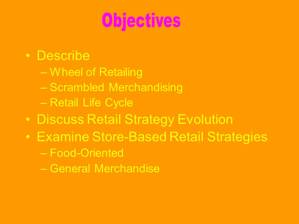 Discuss Retail Strategy Evolution