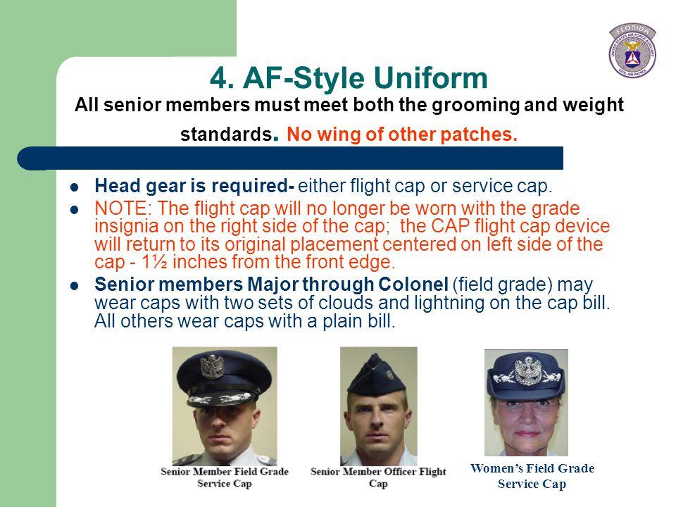 Women's Field Grade Service Cap