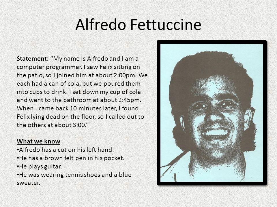 Alfredo Fettuccine