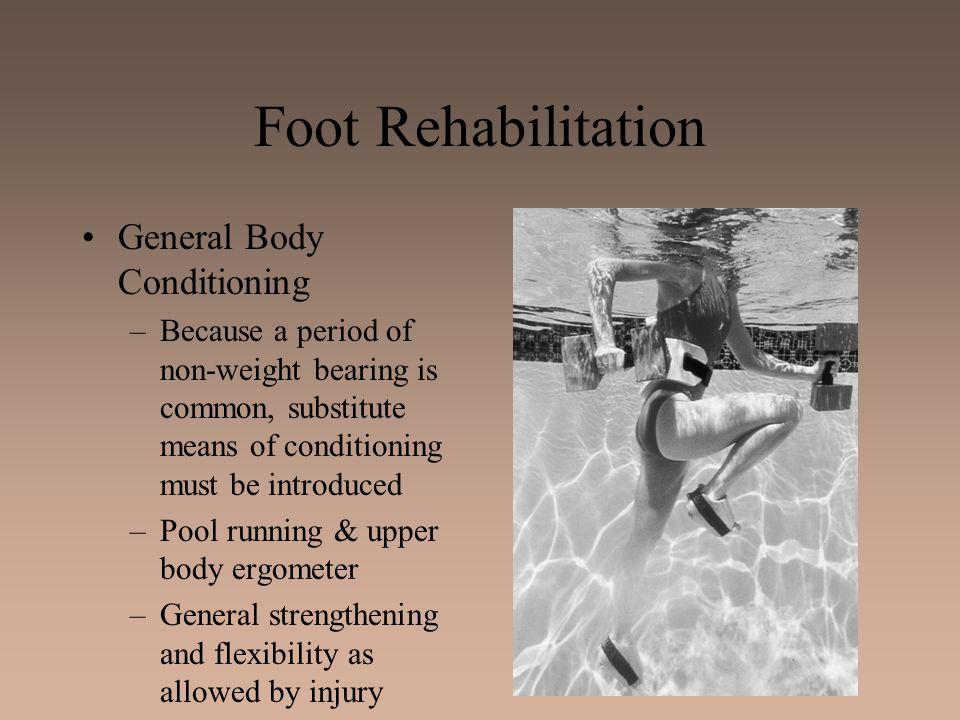 Foot Rehabilitation General Body Conditioning