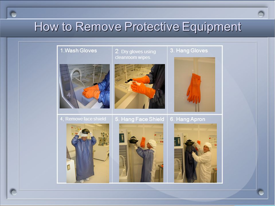 How to Remove Protective Equipment