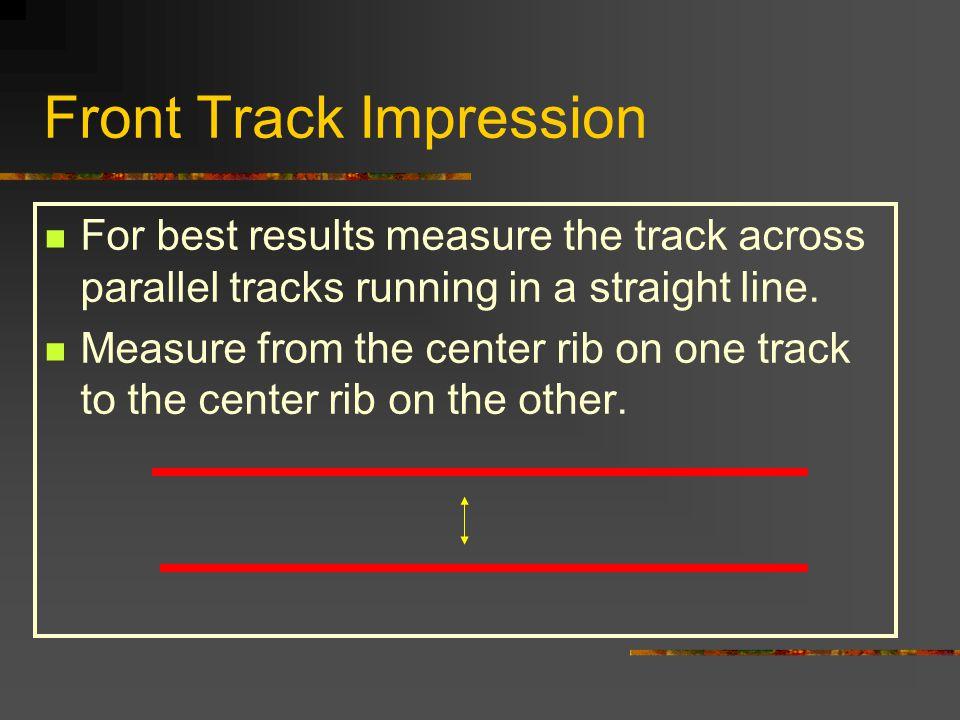 Front Track Impression