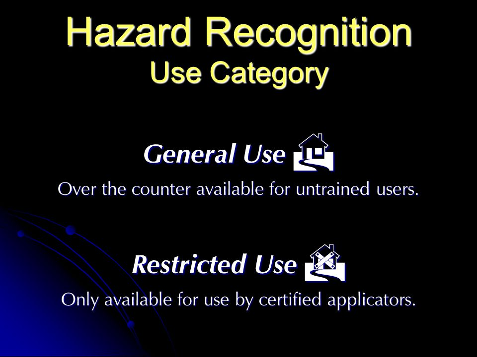 Hazard Recognition Use Category