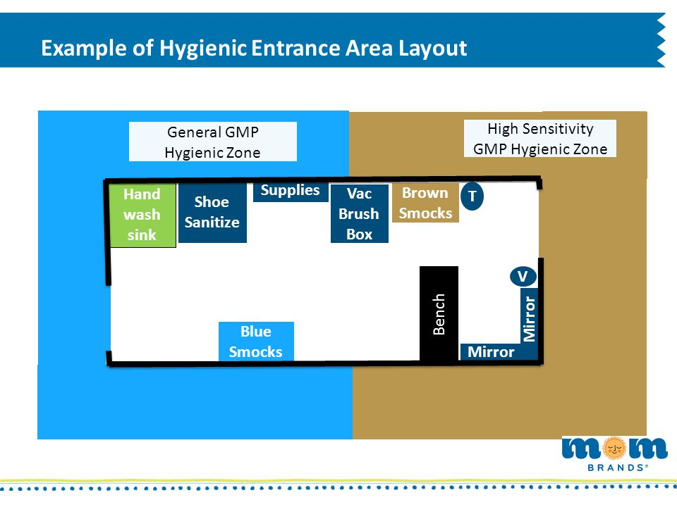Example of Hygienic Entrance Area Layout