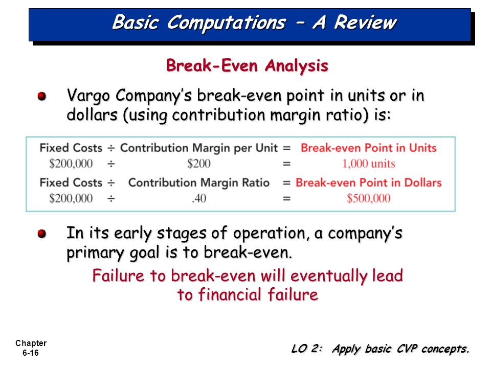 Basic Computations – A Review