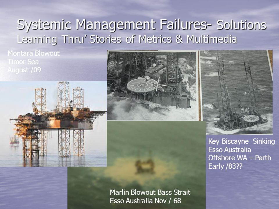Systemic Management Failures- Solutions Learning Thru' Stories of Metrics & Multimedia
