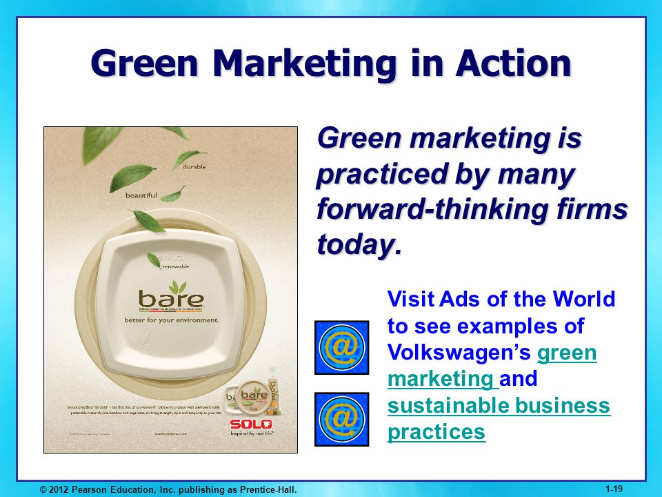 Green Marketing in Action