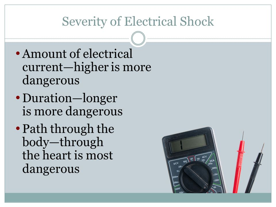 Severity of Electrical Shock