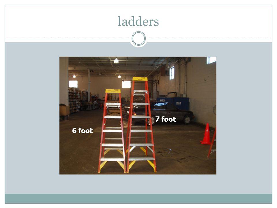 ladders 7 foot 6 foot
